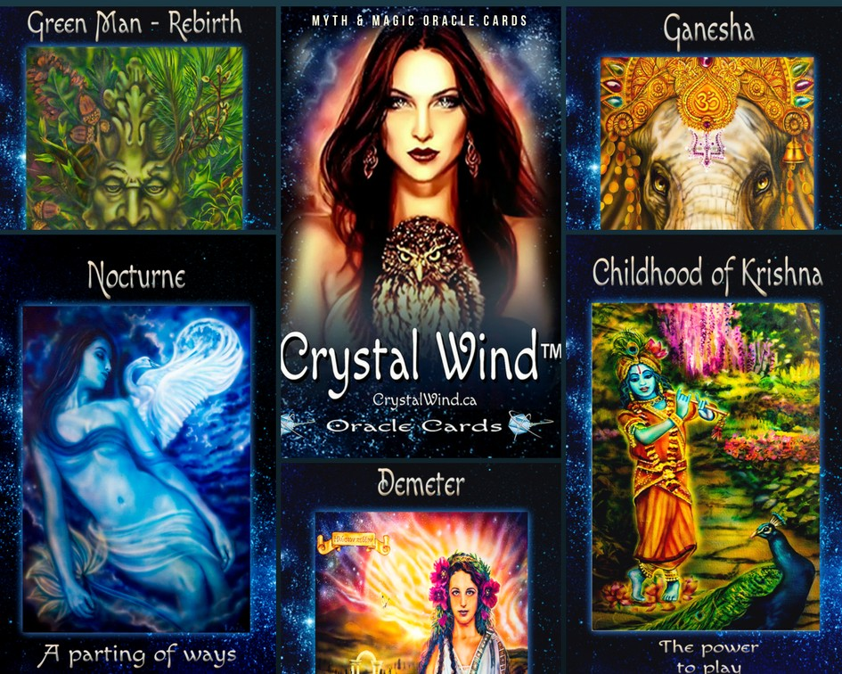 crystal wind oracle cards